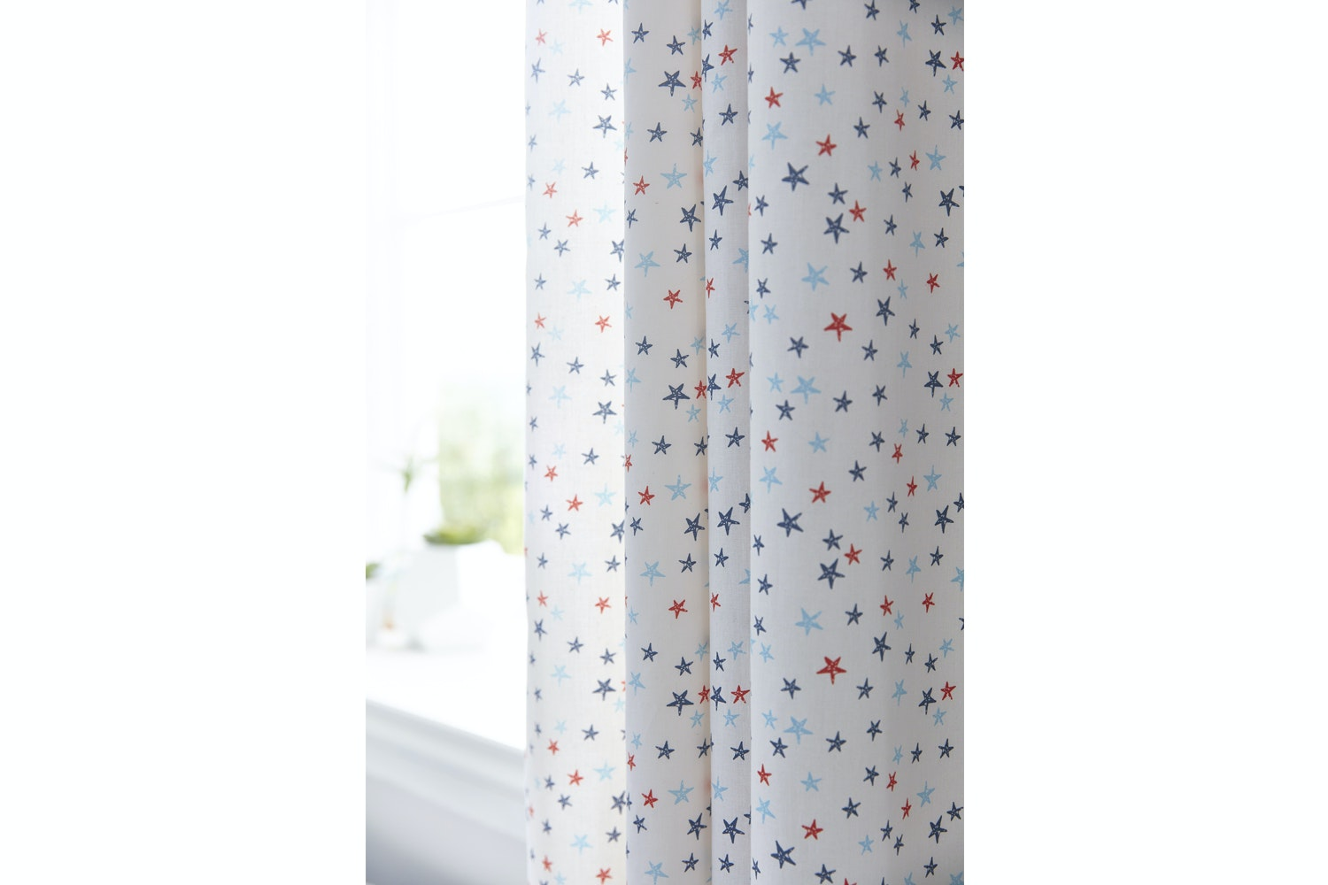 Star Cotton Print Curtain