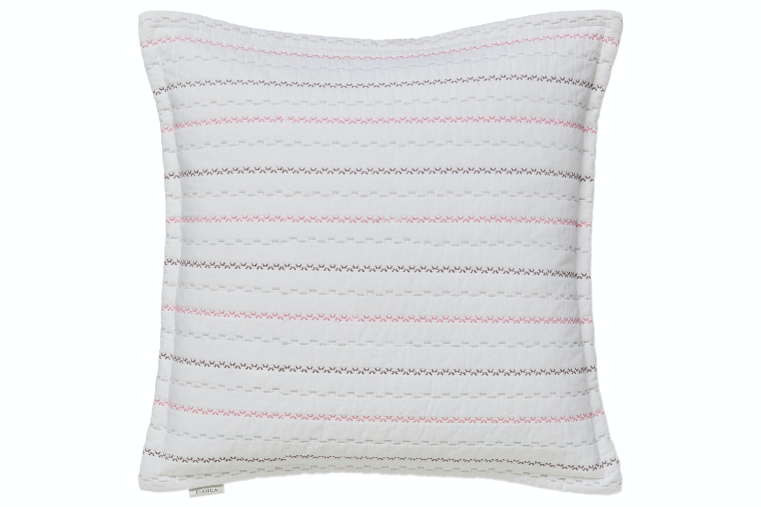 Pastel Folk Cotton Cushion
