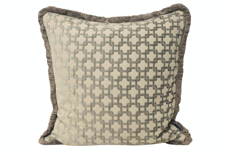 Belmont Cushion Silver 55 X 55 Cm