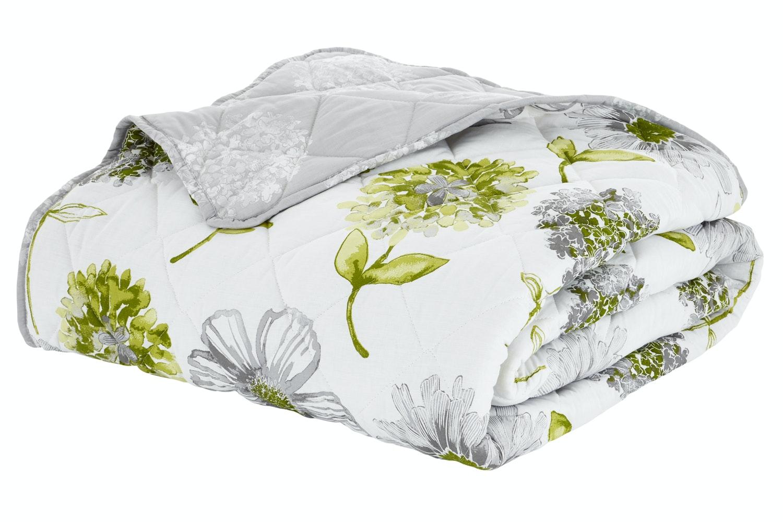 Banbury Floral Bedspread | Green