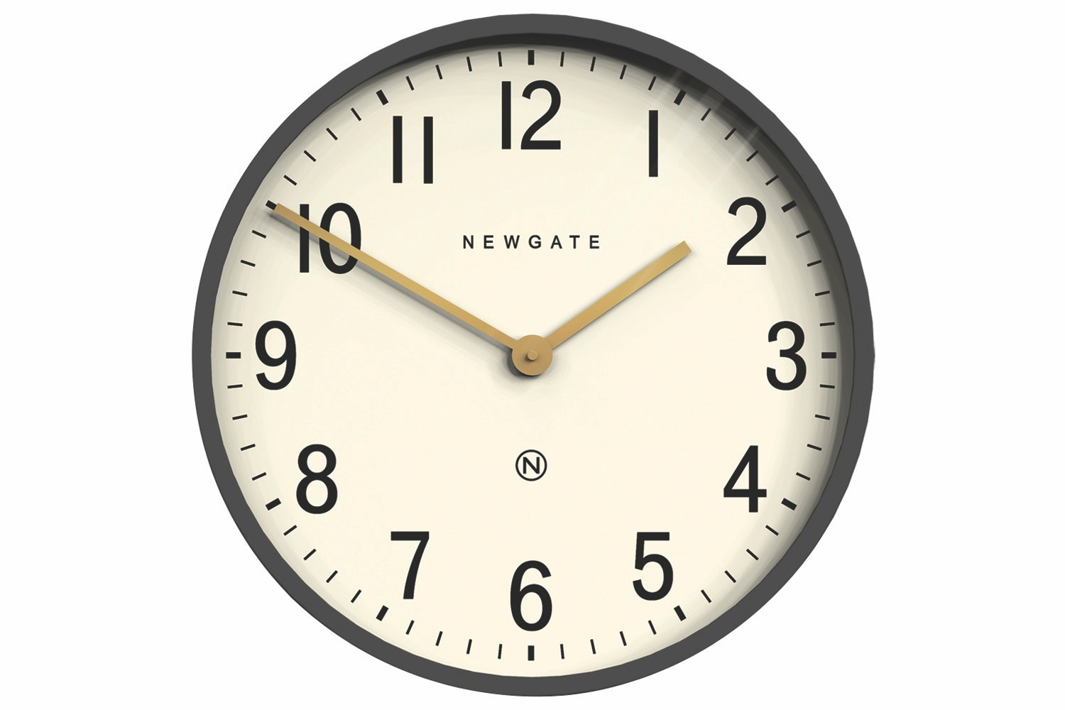 Mr Edwards Clock In Matte Blizard Grey Case