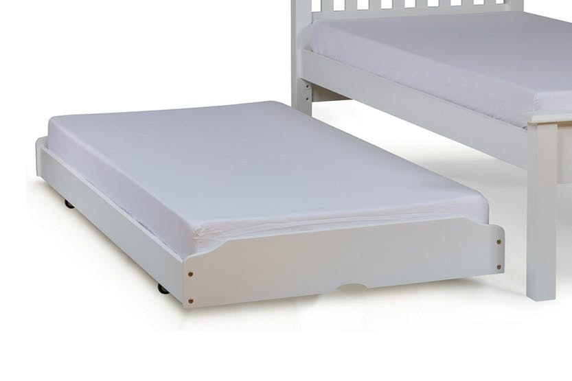 Shaker Trundle Bed | 3ft | White