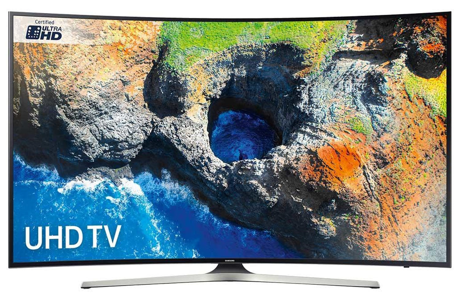 "Samsung 49"" Curved Ultra HD Smart TV 
