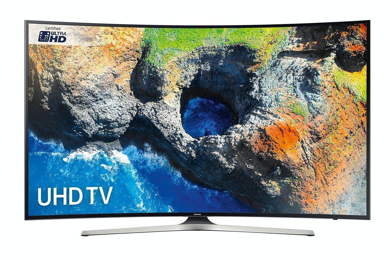 "Samsung 55"" Curved UHD Smart LED TV | UE55MU6200KXXU"