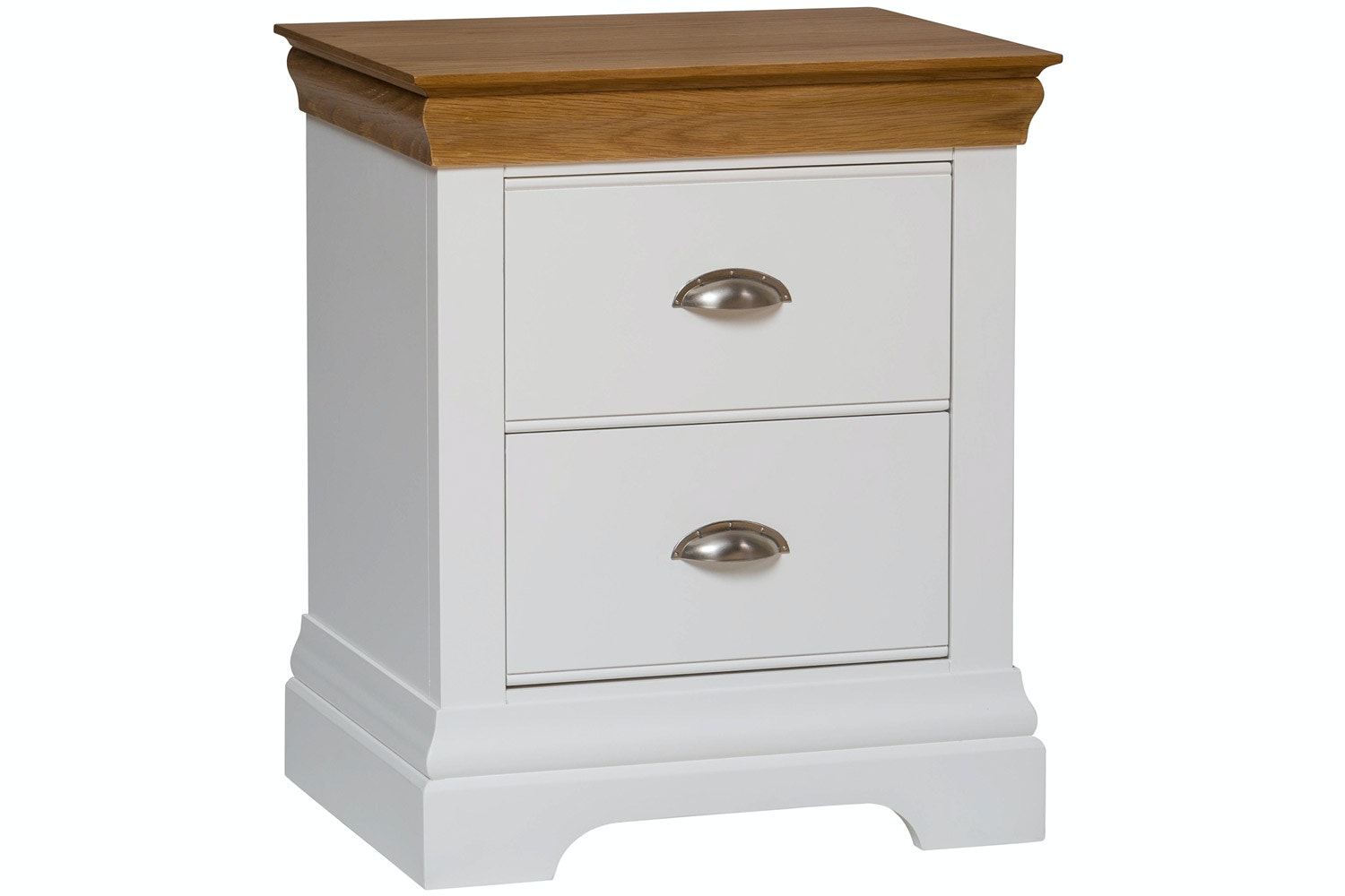 Ascott Bedside Locker | White