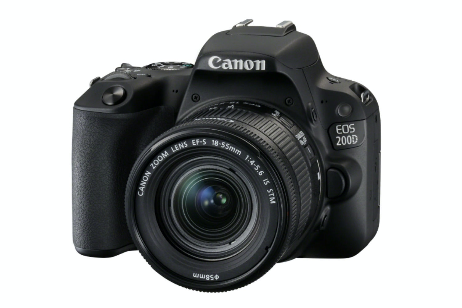 Canon EOS 200D Black & 18-55mm IS STM