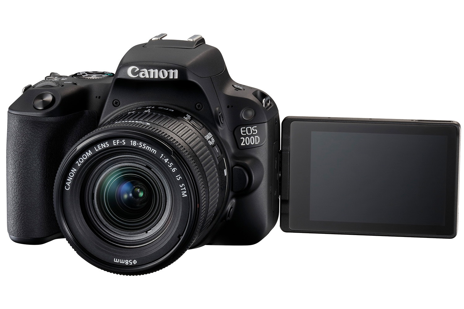 Canon Eos 200d Black Amp 18 55mm Is Stm Ireland