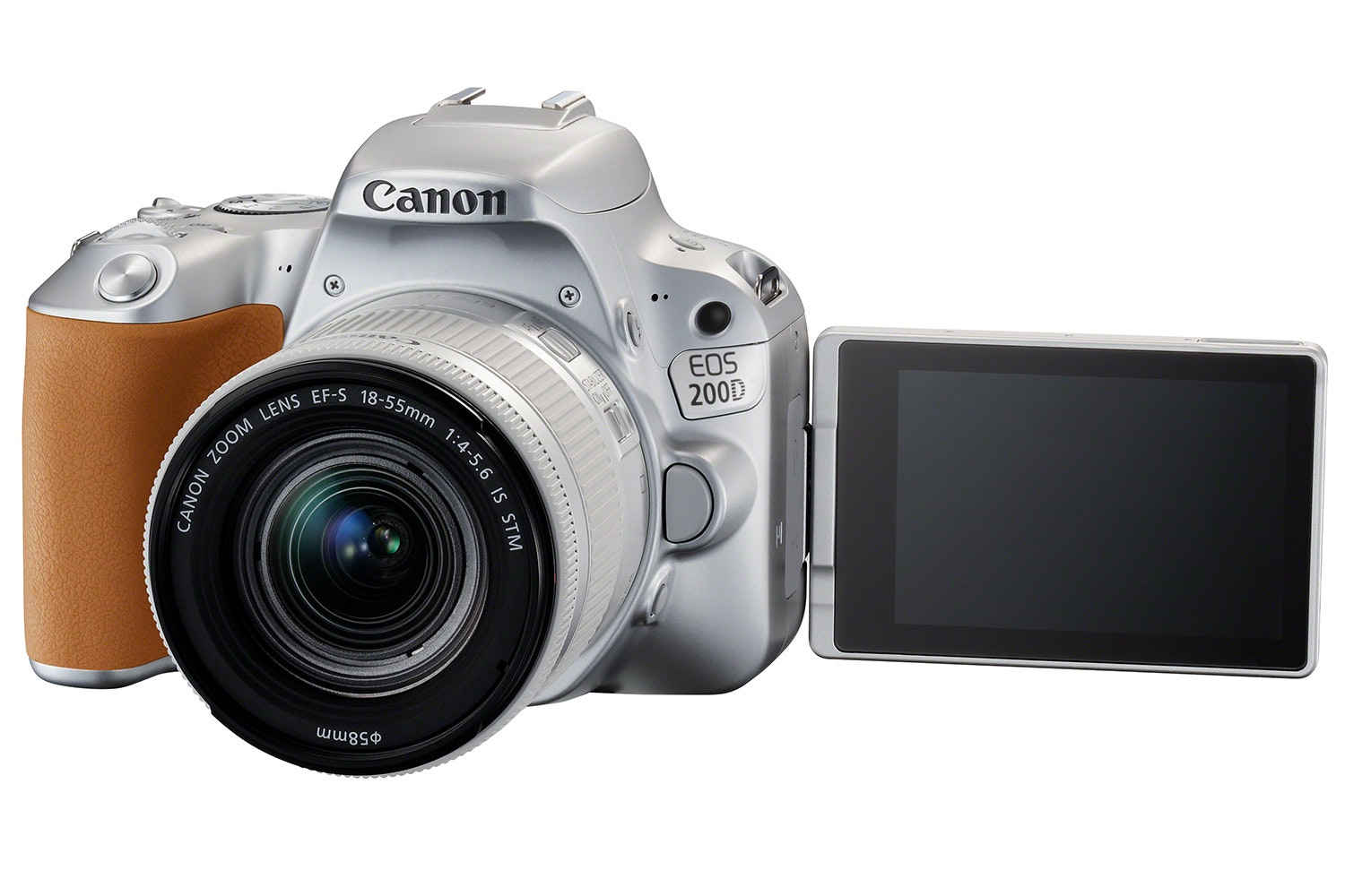 Canon EOS 200D Silver & 18-55mm IS STM