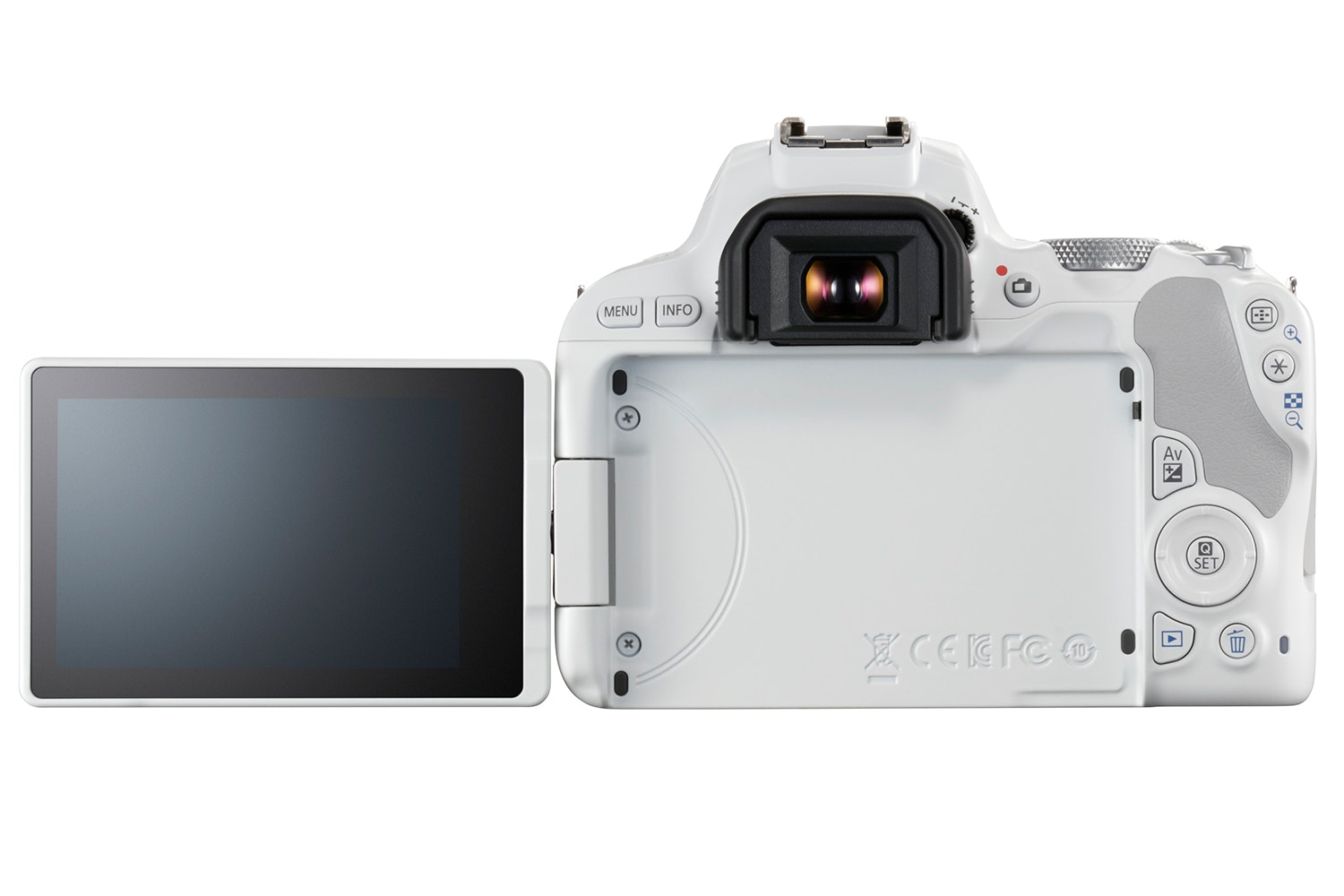 Canon EOS 200D White & 18-55mm IS STM