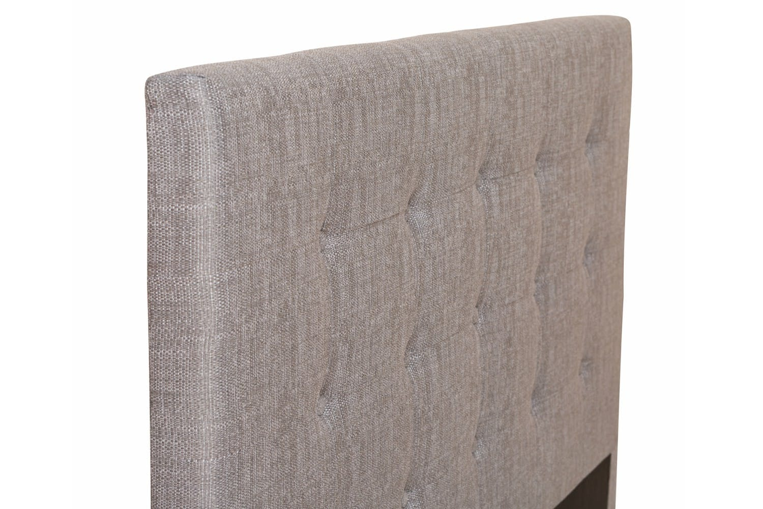 Duval Headboard | Tufted Button  | Grey |  5ft