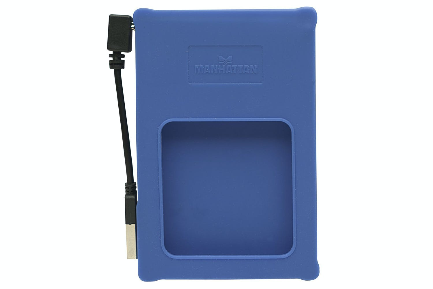 Manhattan External Enclosure Hi-Speed USB 2.0 Blue