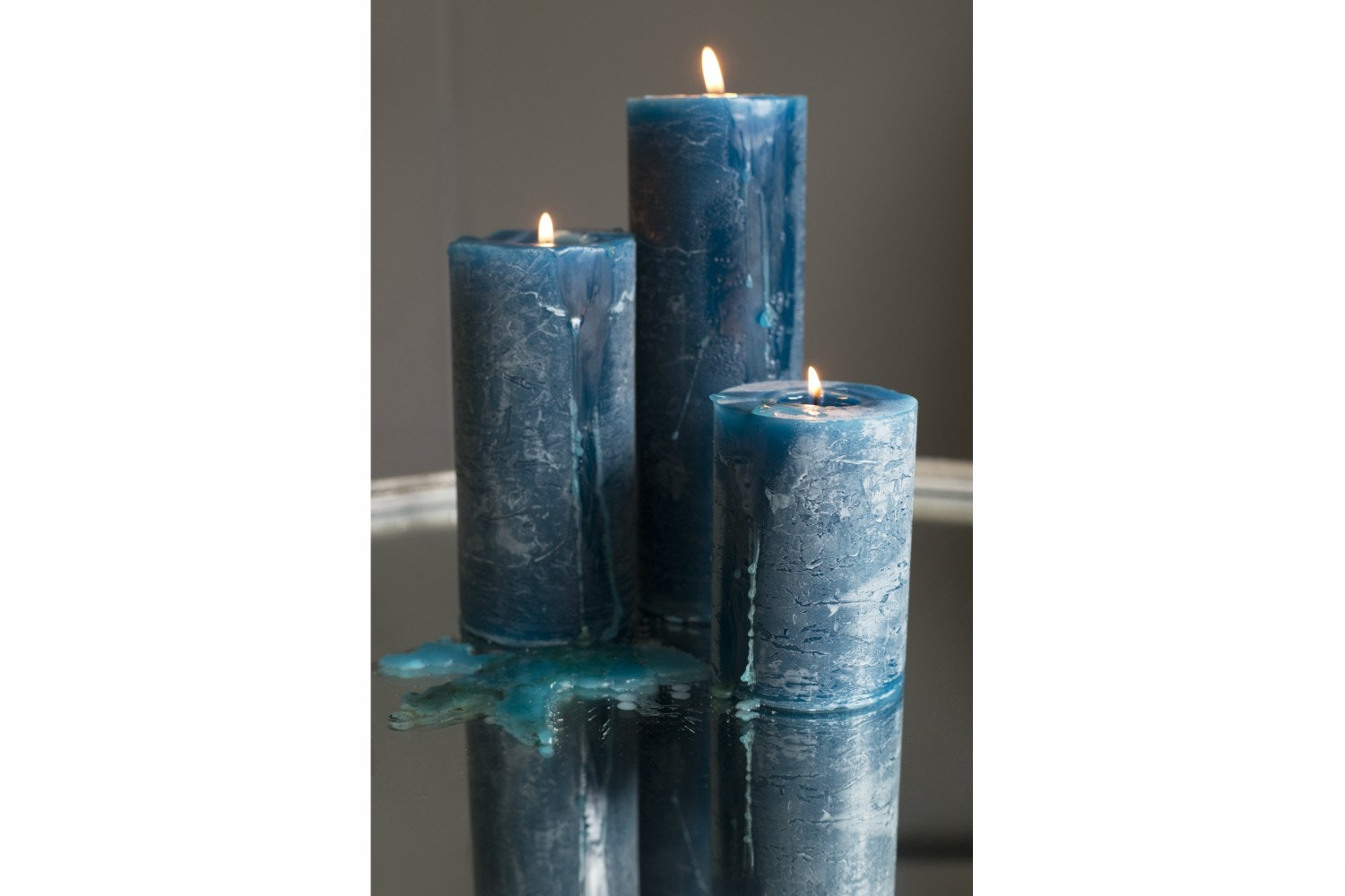 Blue Candle | 7x10