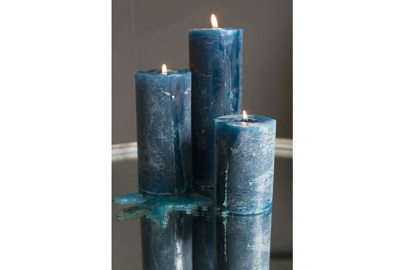 Blue Candle | 7x10cm