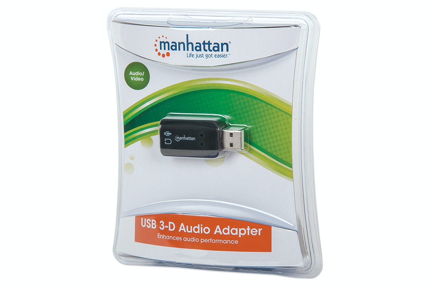 Manhattan Hi-Speed USB 3D Sound Adapter