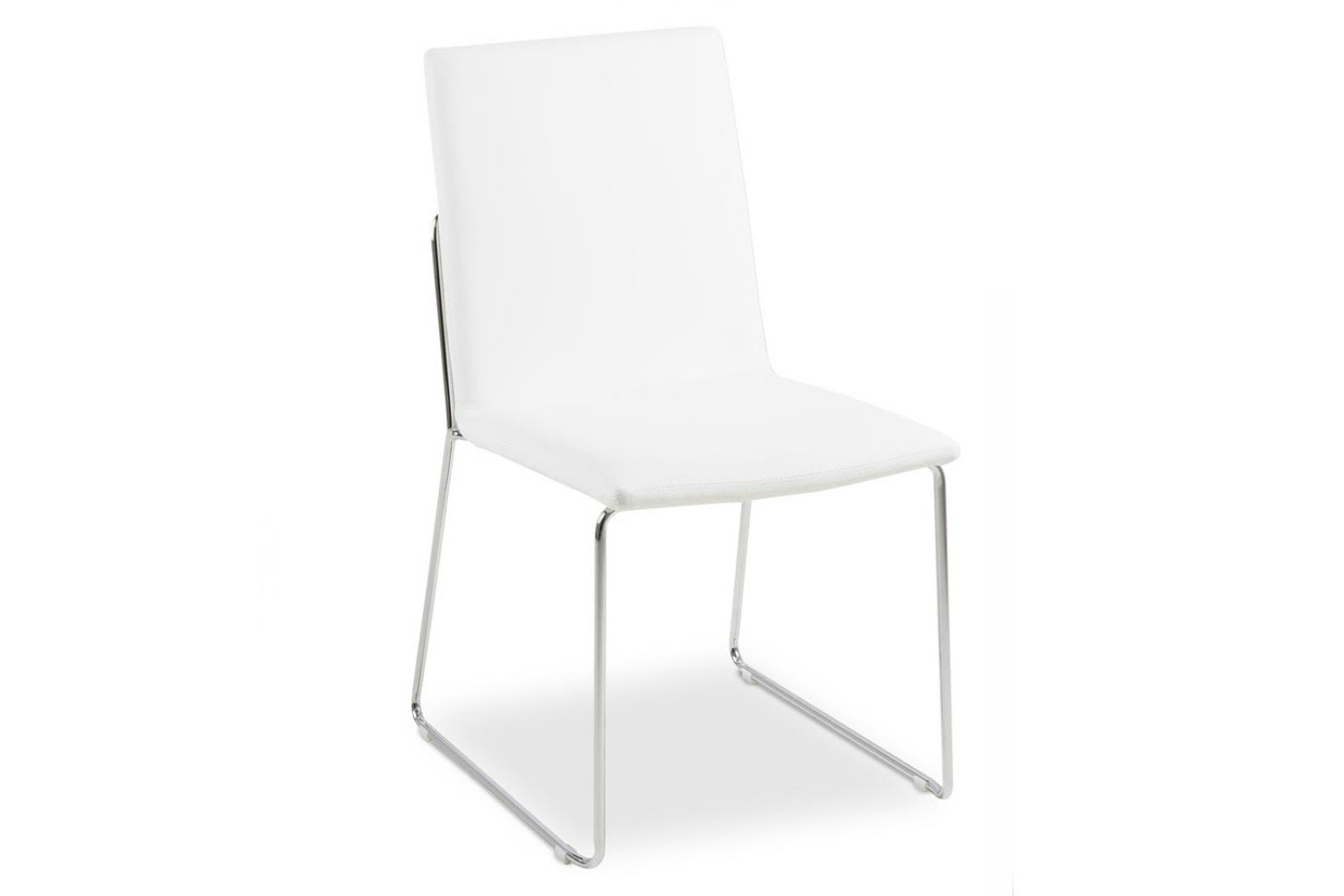 Luna Dining Chair | White