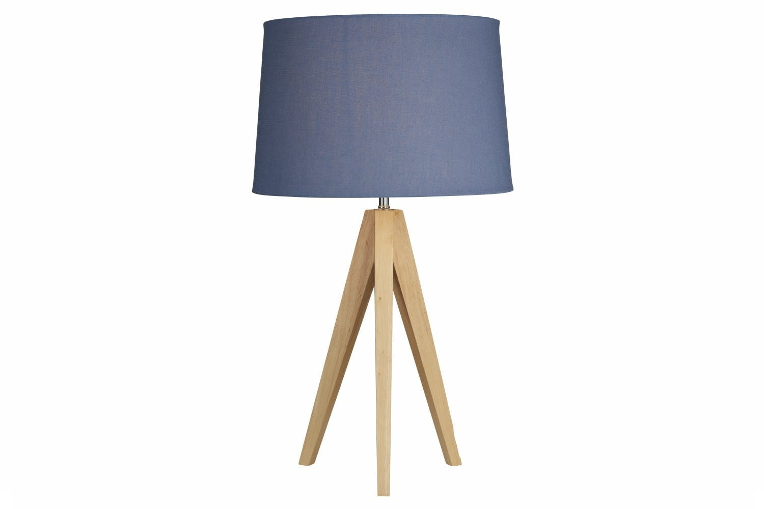 Wooden Tripod Lamp