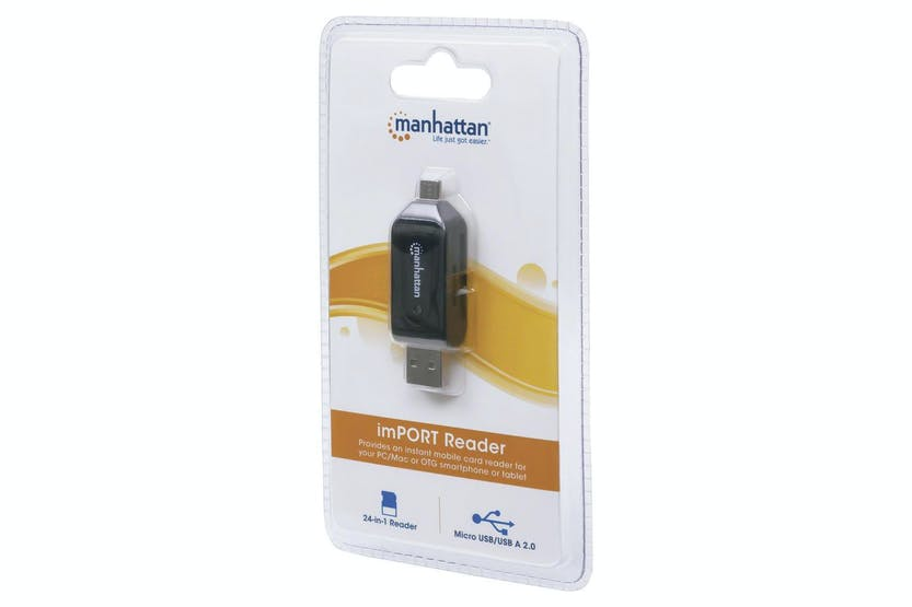 Manhattan imPORT Card Reader