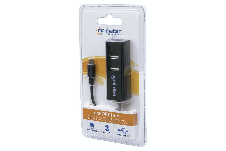 Manhattan imPORT Hub Multifunction Adapter