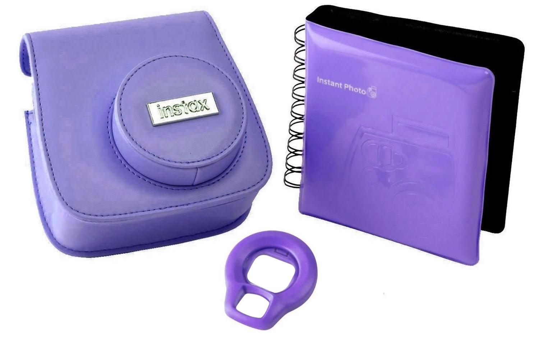 Fujifilm Instax Mini 8 Accessory Kit Grape