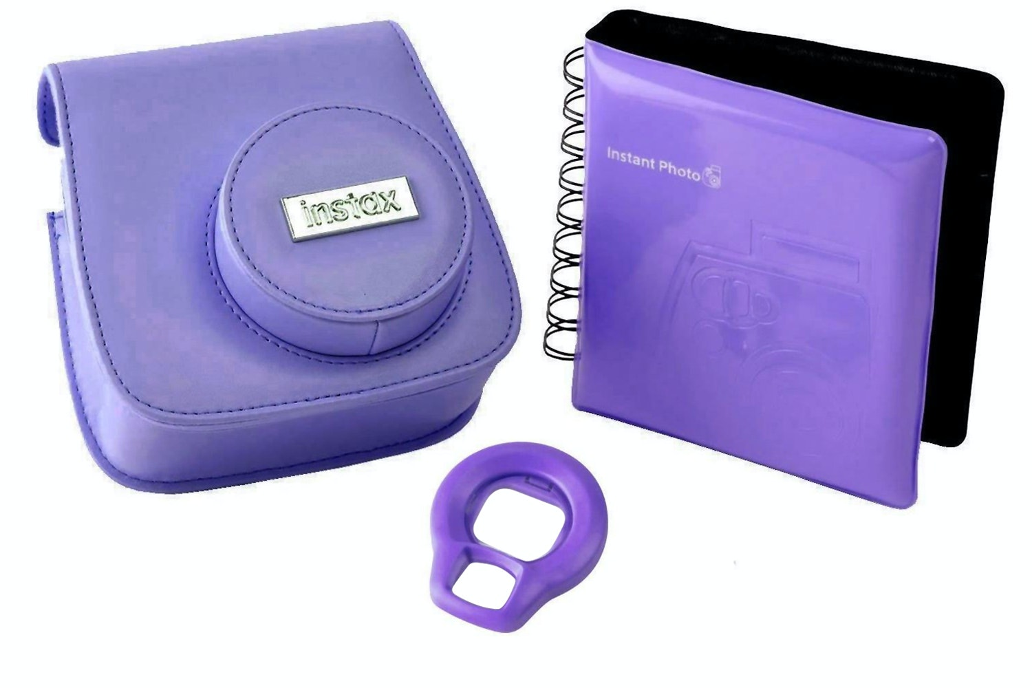 Fujifilm Instax Mini 8 Accessory Kit Grape