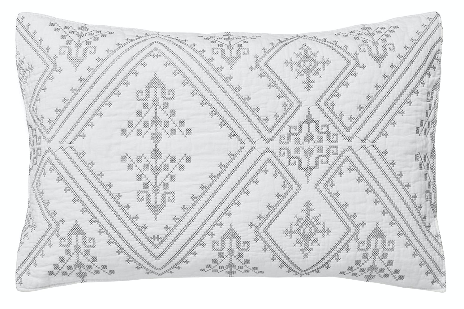 Aztec Cutwork Cushion
