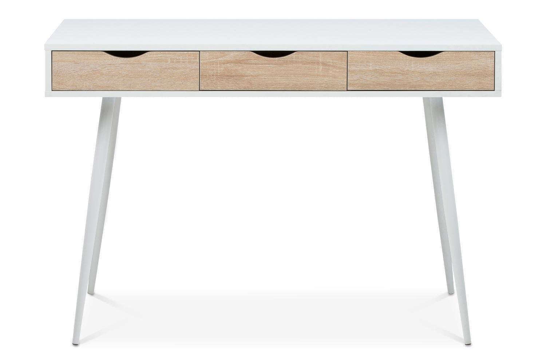 incredible white office desk furniture   Bea Desk   Oak   White   Ireland