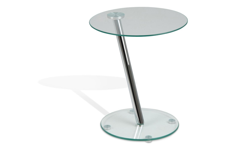 Dexter Side Table   Clear