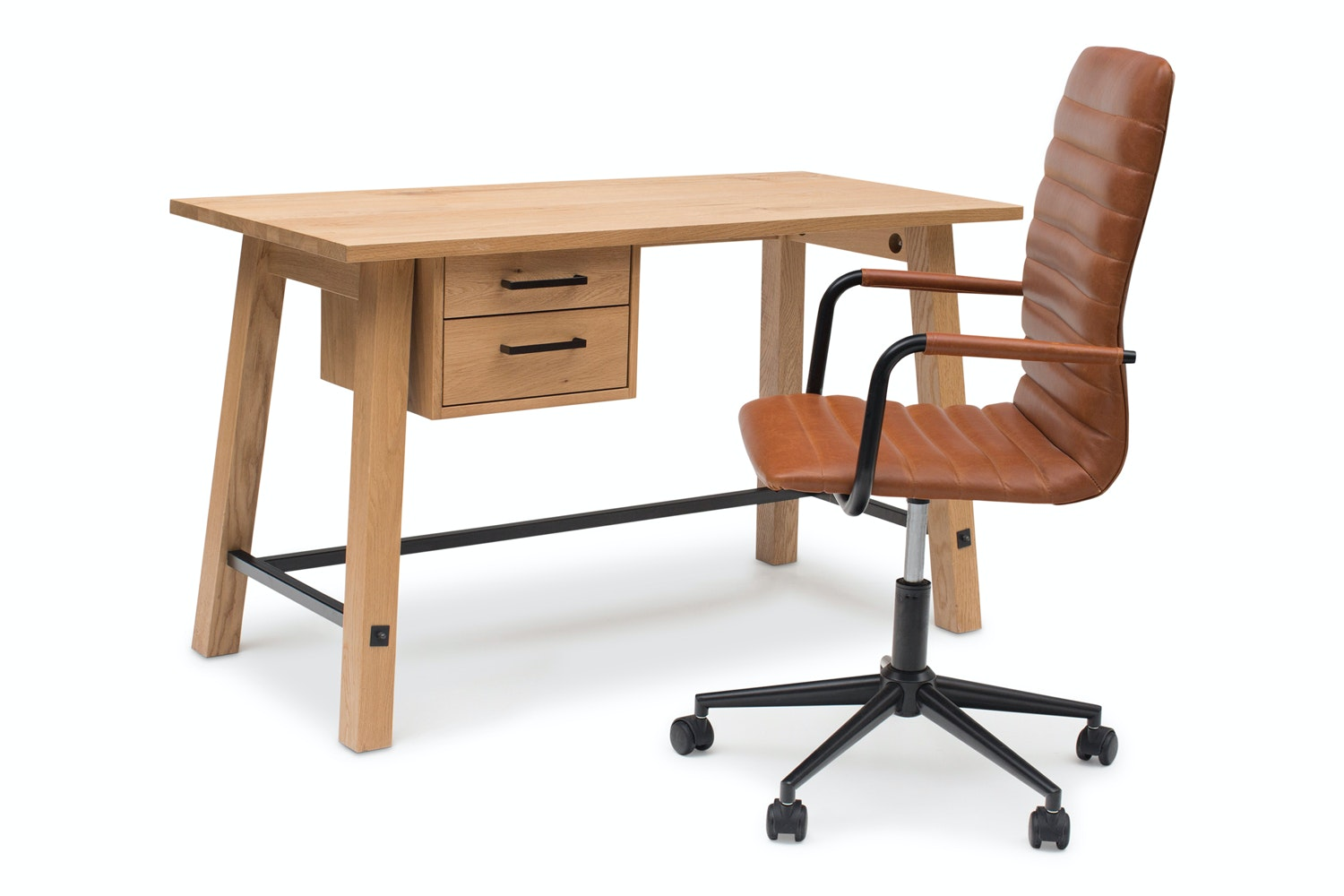 Stockholm Office Set With Desk and Chair