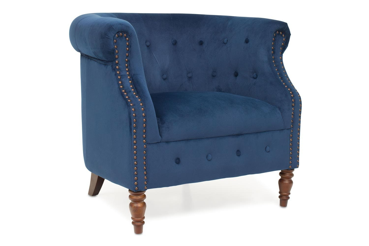Kyoto Tub Chair | Royal Blue ...  sc 1 st  Harvey Norman : blue tub chair - Cheerinfomania.Com