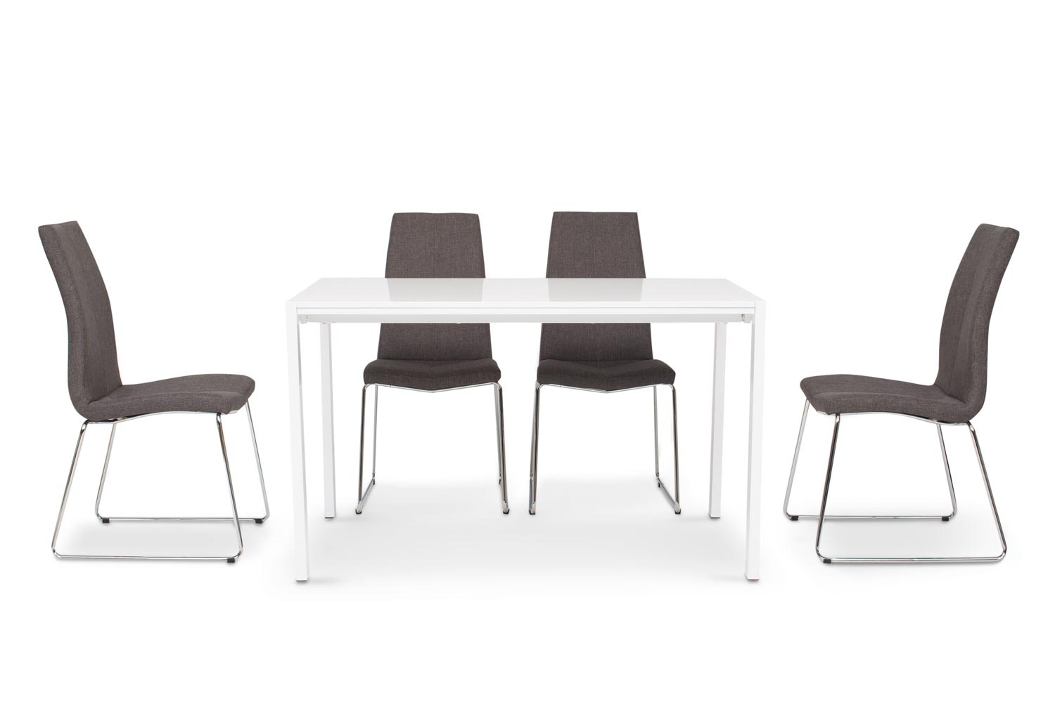 Bristol Dining Set With Melina Chairs | 5 Piece