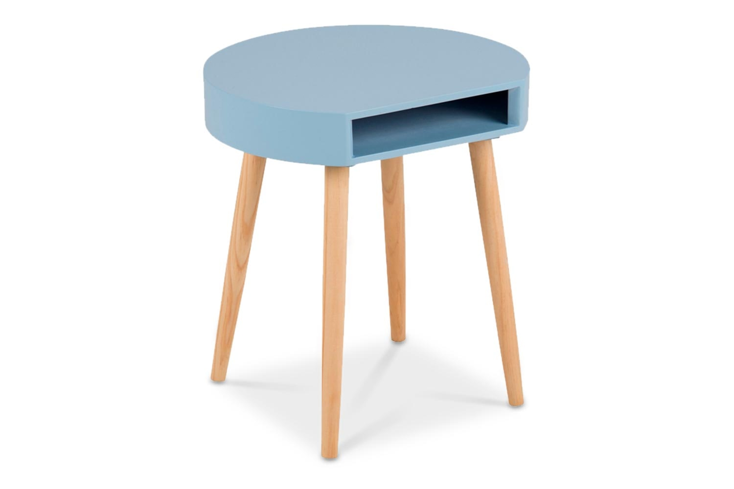 Ela Lamp Table | Blue