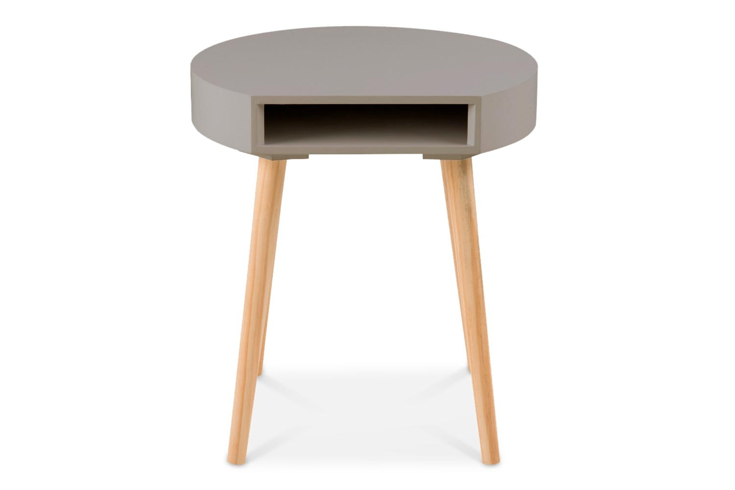 Ela Lamp Table | Grey
