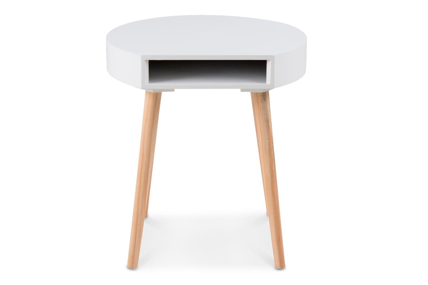 Ela Lamp Table | White