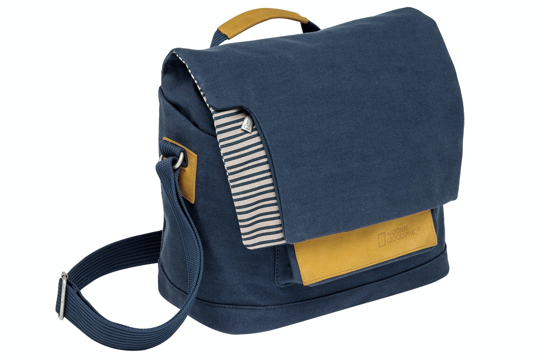 Manfrotto National Geographic Mediterranean Camera Messenger Bag Blue