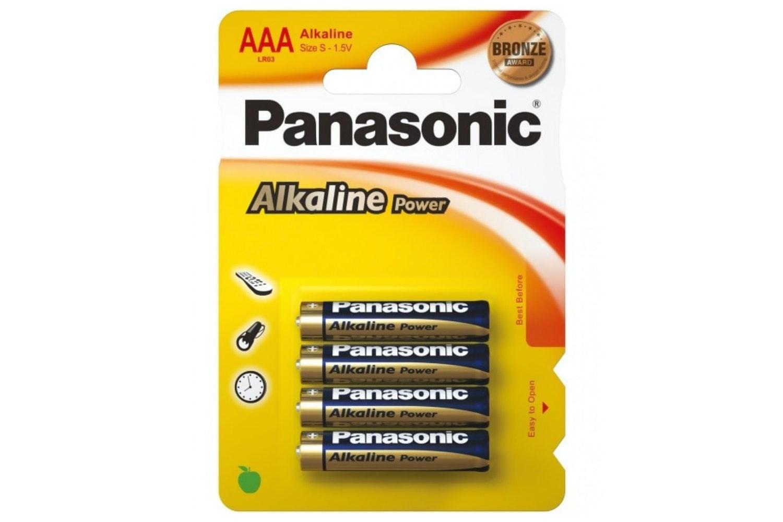 Panasonic Bronze AAA 4 Pack
