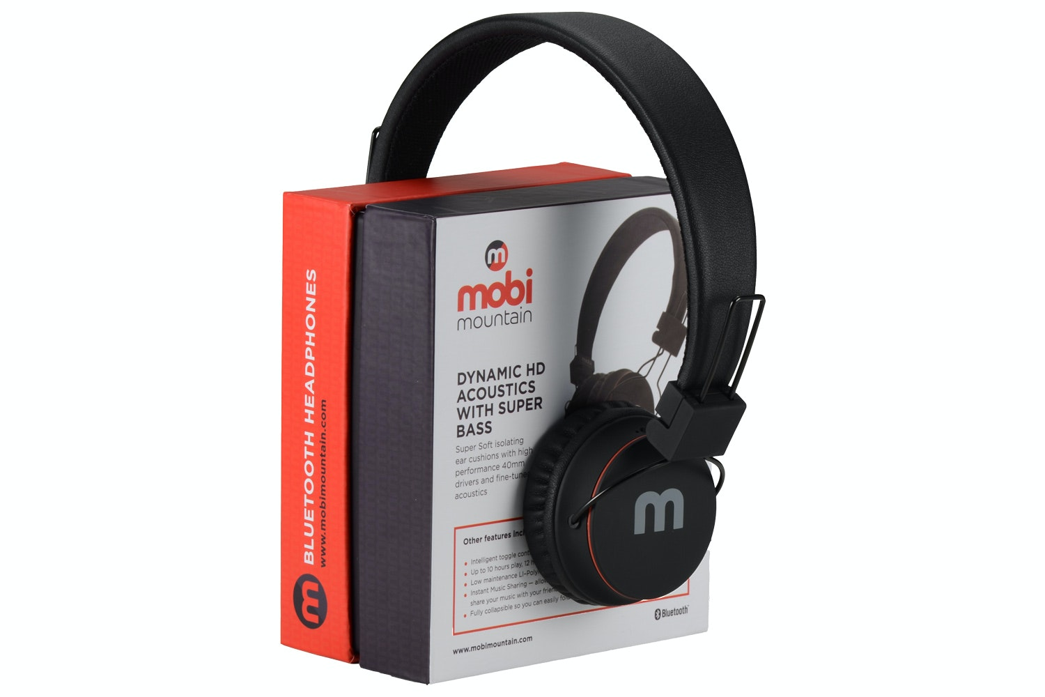 MobiMountain Wireless Bluetooth HeadPhones | MMS02