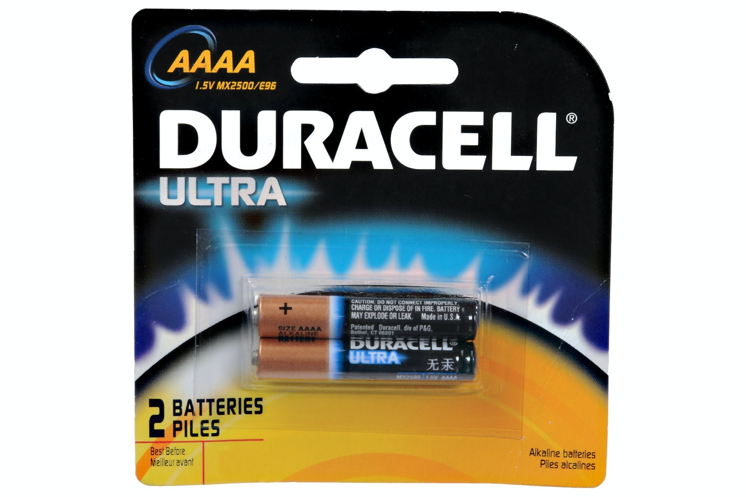 Duracell Ultra AAAA Battery | 2 Pack