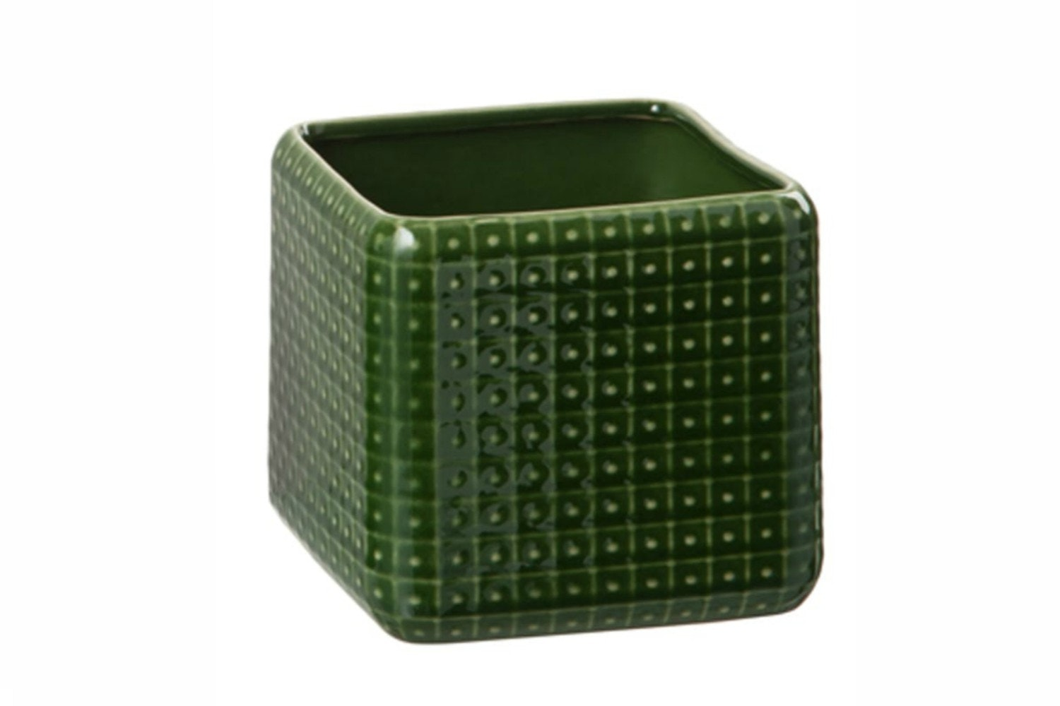 Square Ceramic Flower Pot | Medium