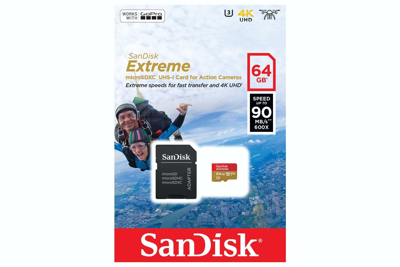 Sandisk 64GB Extreme MicroSD Card   151549