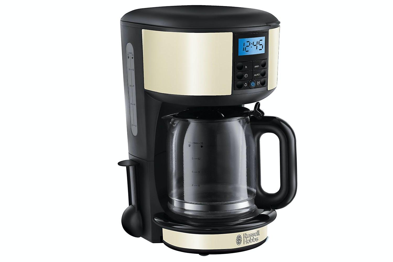 Rus Hobbs Legacy Cream Coffee Maker 20683