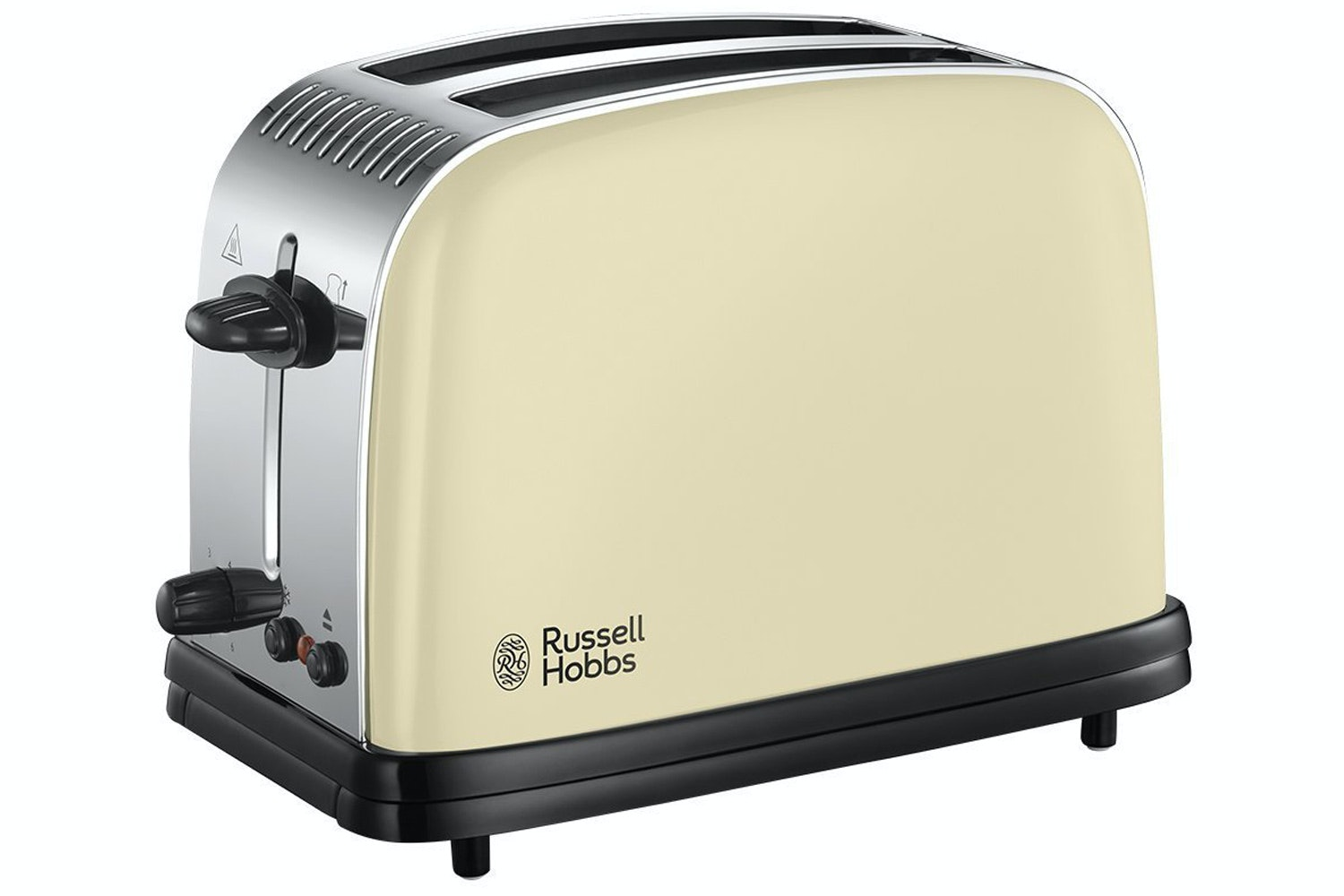 Russell Hobbs Plus 2 Slice Toaster | Cream