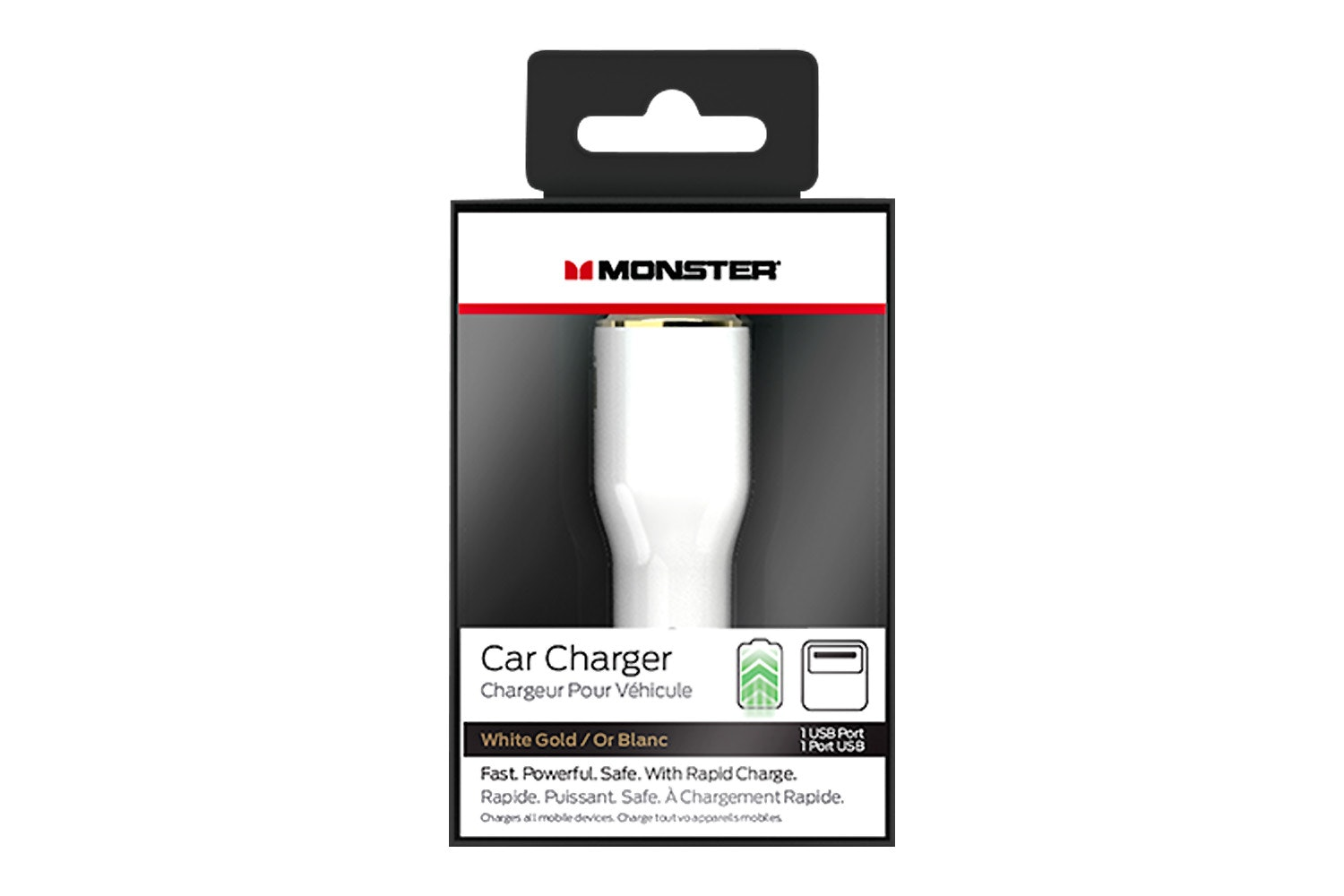 Monster Mobile 1 USB iCarCharger Max 1