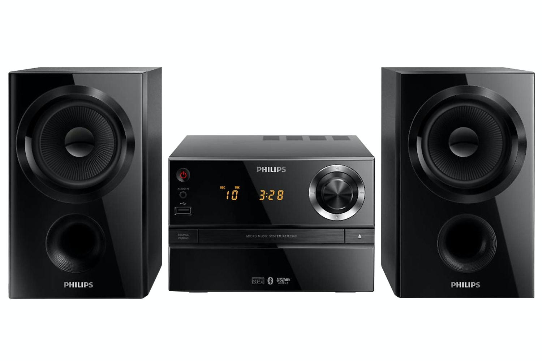 Philips Micro Hi-Fi Music System | BTM1360/12