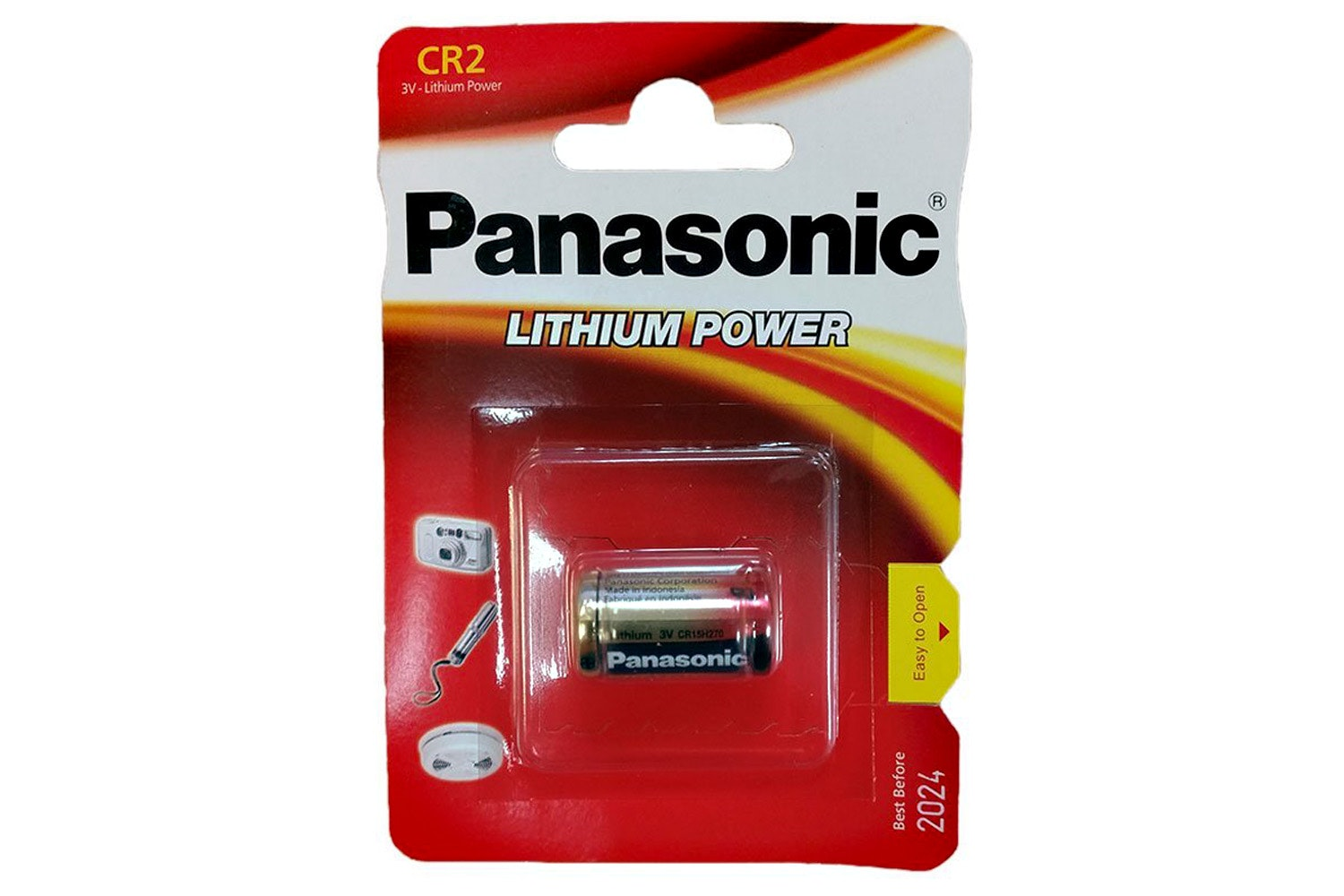 Panasonic Lithium Photo Battery 3V | CR2