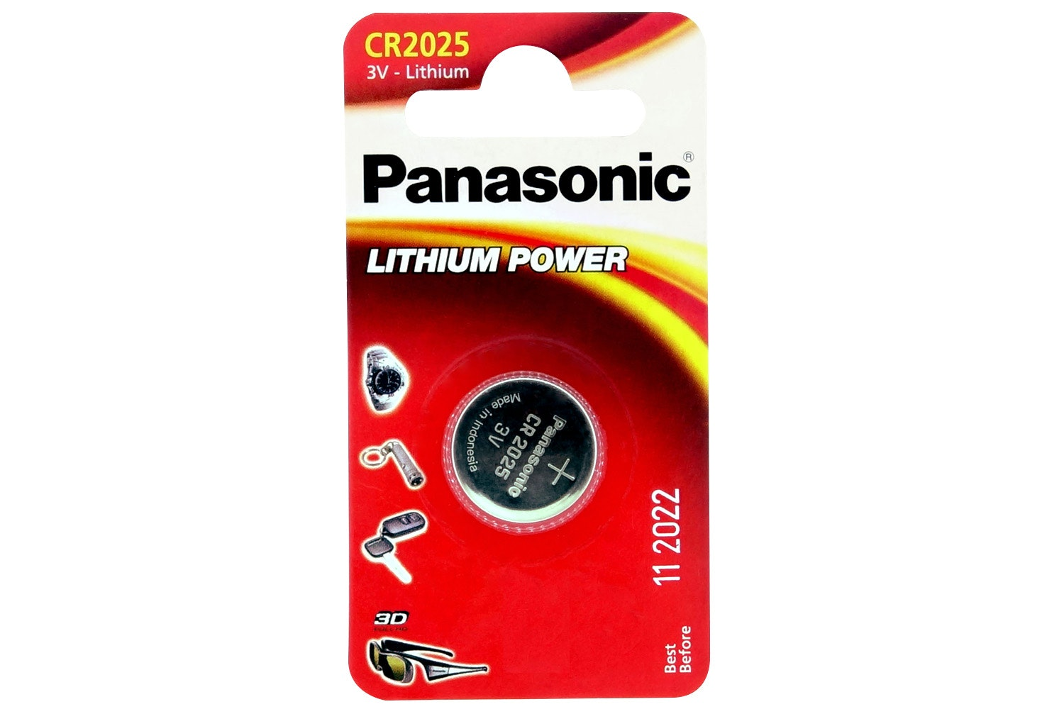 Panasonic Lithium Coin Cell Battery 3V | CR2025
