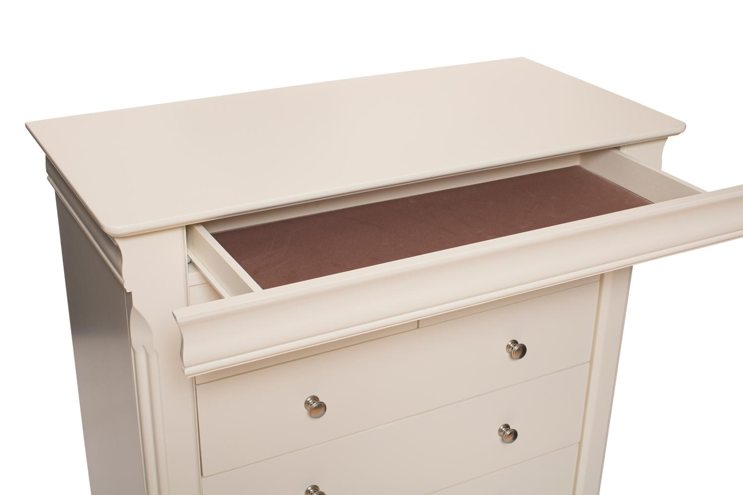 Chantelle 7 Drawer Chest | Creme