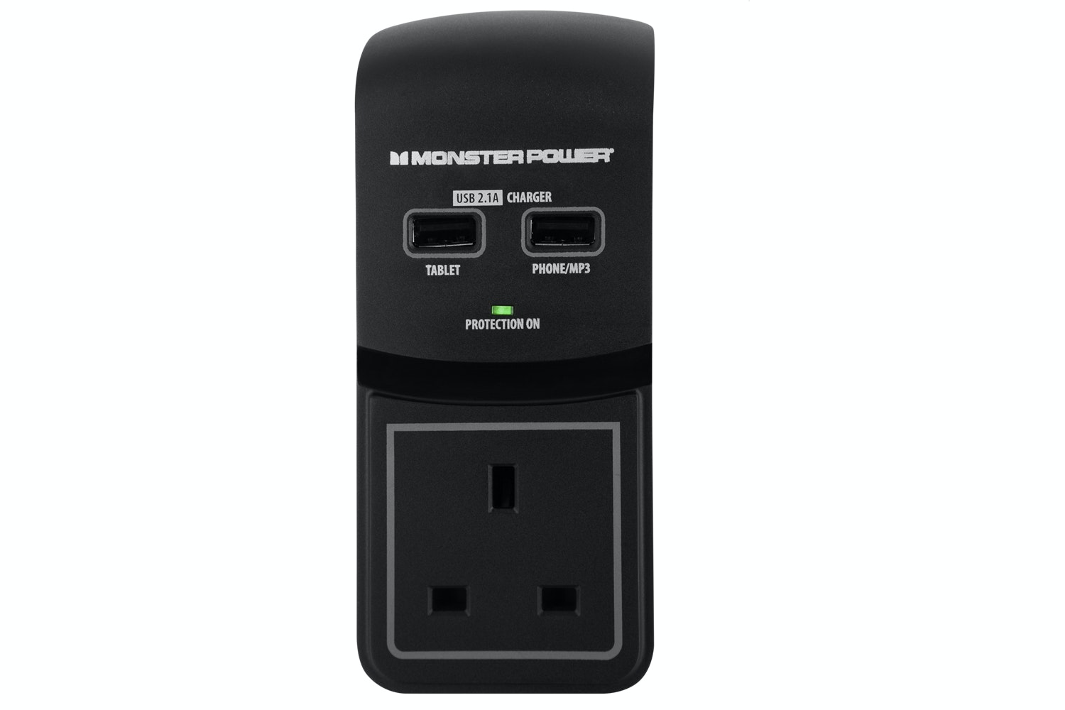 Monster Core Power 100 USB Surge Protector Plug Adapter