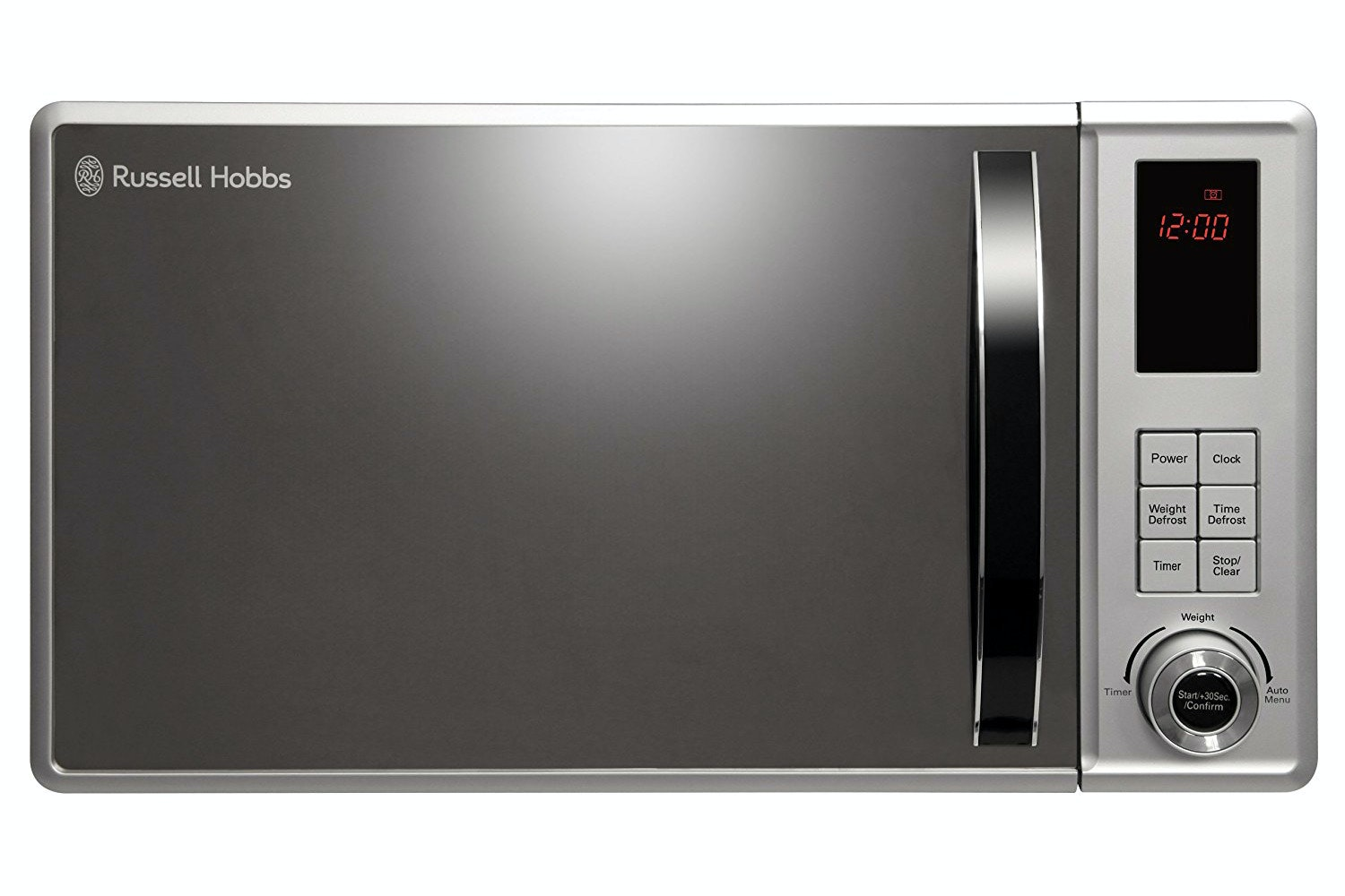 Russell Hobbs 23L 800W Solo Microwave | RHM2362S | Stainless Steel