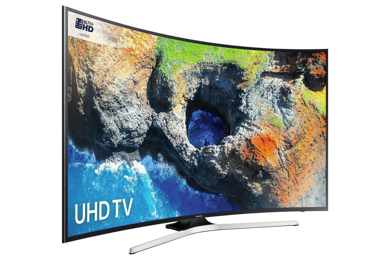 "Samsung 55"" Curved Smart Ultra HD LED TV | UE55MU6220KXXU"