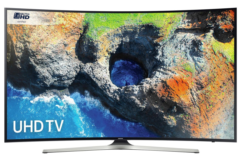 "Samsung 65"" Curved Smart Ultra HD LED TV | UE65MU6220KXXU"